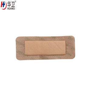Medical new adhesive absorbent pad wound care silicon foam dressing
