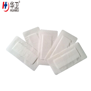 Sterile Nonwoven self-adhesive wound care and healing dressing