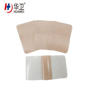 Nonwoven medical wound care dressing