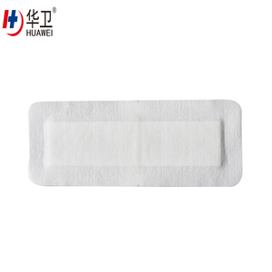 Medical nonwoven adhesive wound care dressing