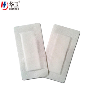 Nonwoven waterproof sterile surgical wound care dressing pack