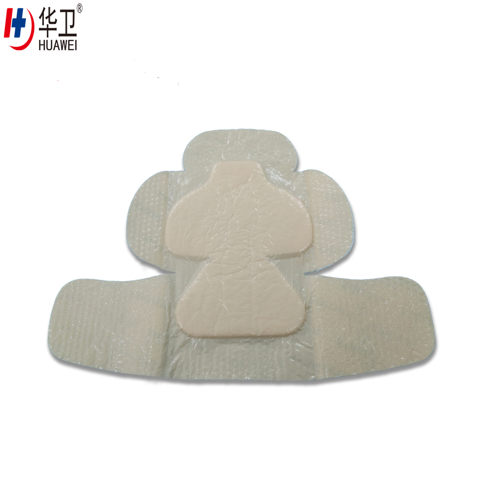 Hot Sale medical adhesive high absorb wound secretions foam wound dressings