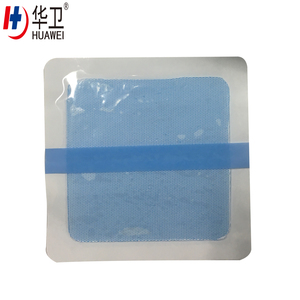 Hydrogel burn wound dressing